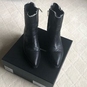 Saint Laurent leather boots - excellent condition